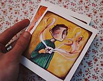 Papiernictvo - Ty a ja/ pohľadnice - 11536633_