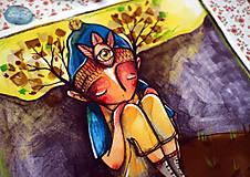 Grafika - Osamelosť mojej samoty - 11536780_