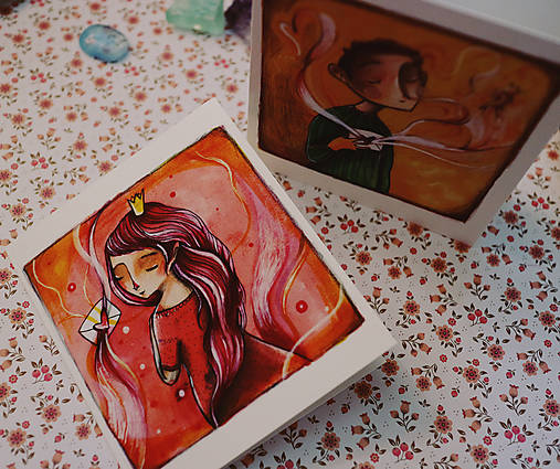 Ty a ja/ pohľadnice
