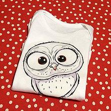 Detské oblečenie - Detské bavlnené body - ♥ OčiPuči Baby Sôvä ♥ - 11535608_