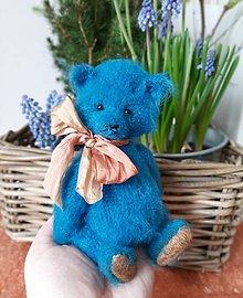 Hračky - Modrý medvedík  - 11534809_