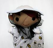 Hračky - Maňuška včelár - na objednávku - 11537027_