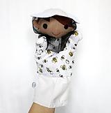 Hračky - Maňuška včelár - na objednávku - 11537029_