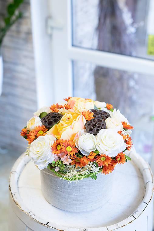 Flowerbox - ORANGE