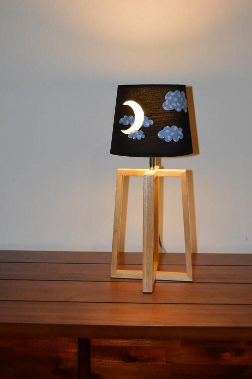 Detská nočná lampa MESIAČIK