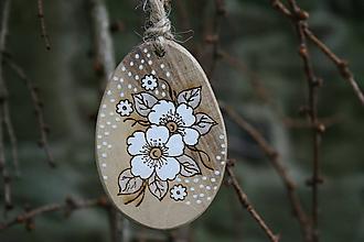 """Dekorácie - veľkonočná dekorácia na zavesenie """"kvety"""" - 11535538_"""