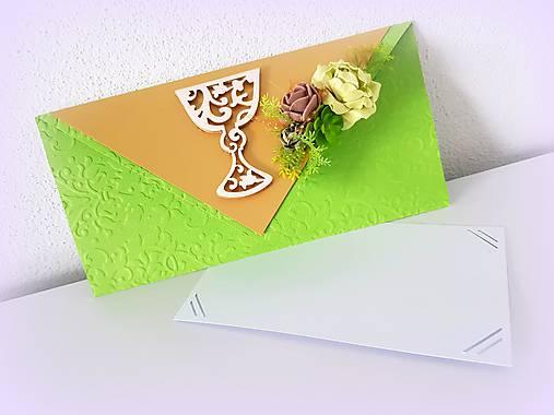 Darčeková obálka na konfirmáciu