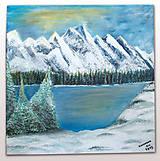 Obrazy - Zimná krajina - 11536409_