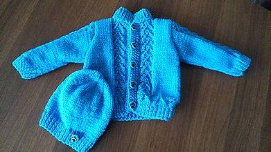 Detské oblečenie - Kojenecká souprava chlapecká - 11535197_