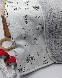 """Textil - deka """" stromček """" - 11537678_"""