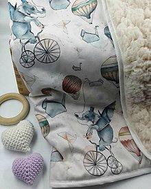 """Textil - deka """" sloník """" - 11537707_"""