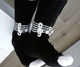 Obuv - pletené ponožky - 11539018_