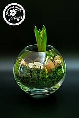 Dekorácie - Jar v skle - 11538252_