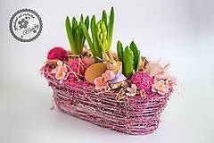Dekorácie - Svieža jarná dekorácia - 11540392_