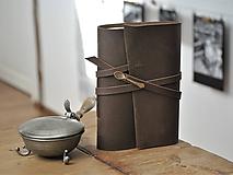 - kožený zápisník - receptár CULINARIO - 11538602_