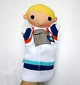 Hračky - Maňuška kozmonaut - 11539925_