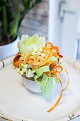 Dekorácie - Flowerbox - PEONY - 11539849_