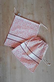 Úžitkový textil - Bavlnené vrecúško do domácnosti - 11540425_
