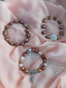 Náramky - náramok z riečnych perál - 11538910_