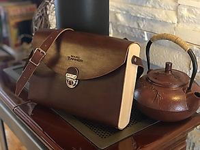 Kabelky - Dámska kabelka - Wooden Life No.01 - 11538324_