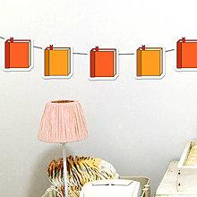 Tabuľky - Detská girlanda knižky - 11538971_