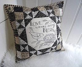 Úžitkový textil - Home ... vankúš No.1 - 11543824_