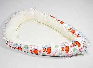 Textil - Hniezdo sloník, líška, zajačik - 11543791_