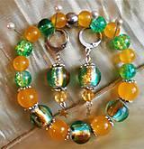 Sady šperkov - Lampwork - 11542530_