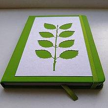 Papiernictvo - Konárikový zelený... - 11542801_