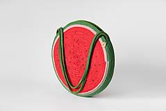 Kabelky - Kabelka kulatá melounová - 11542760_