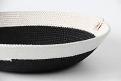 Košíky - Ošatka černobílá - 11542826_