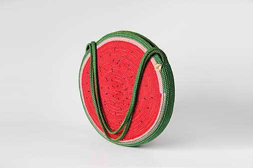 Kabelka kulatá melounová