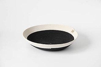 Košíky - Ošatka černobílá - 11542825_