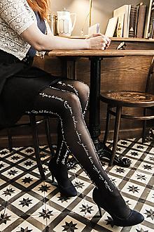 Nohavice - Marína (čierna) - 11541085_
