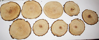 Pomôcky - Drevené veľké pláty z dreva - sada 9 kusov - 11543381_