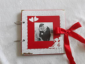 Papiernictvo - Zamilovaný fotoalbum - 11543771_