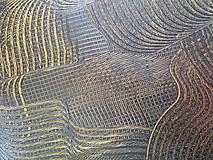 Obrazy - Milujem ťa vo dne v noci - dvojdielny zlatý abstrakt - 11543071_