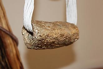 """Náhrdelníky - náhrdelník obručový """"maxi"""" - 11541182_"""