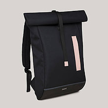 Batohy - Rolltop black/nude - 11542963_