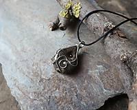 Náhrdelníky - Ornamenty - cínovaný prívesok - 11542210_