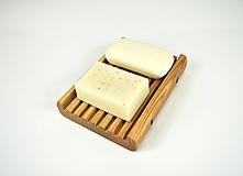 Nádoby - Mydelnička drevená JASEŇ (varianta D: 11 x 15 x 3,0 cm) - 11541986_