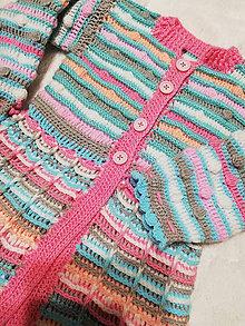Detské oblečenie - Svetrokabátik :) - 11543618_