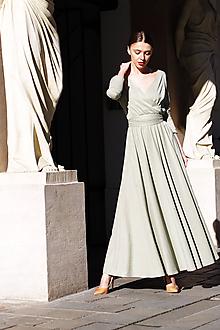 Šaty - Šaty jarná zeleň - 11547505_