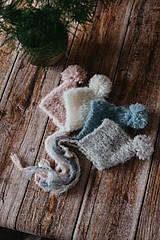 Detské čiapky - Brmbolatá  (Petrol) - 11545508_