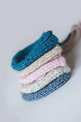 Detské čiapky - Macko čiapočka (Modrá) - 11545557_
