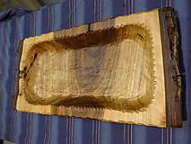 Nádoby - Orechová miska , ručne tesaná , s kôrou 2 - 11546666_