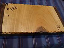 Nádoby - Orechová miska , ručne tesaná , s kôrou 2 - 11546673_