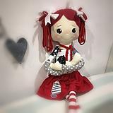 Bábiky - Valentínka Veľká I. - 11544082_
