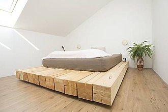 Nábytok - Posteľ: Na voňavom dreve - 11546035_