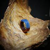 Prstene - Drevený prsteň: Most cez... - 11544678_